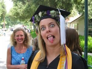 college graduate foster kid