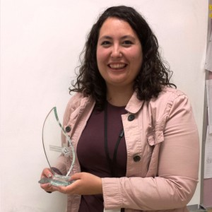 Chelsea with Award