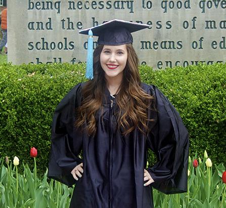 Megan Pyle A graduate of Ohio University Class of 2014